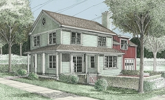 Farmhouse - Artist's Rendering