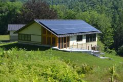 Net Zero home in Hawley, MA