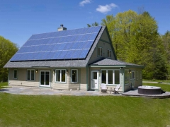 Solar Meets Clean Lines
