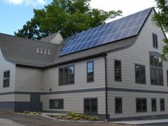 exterior with solar UUSA