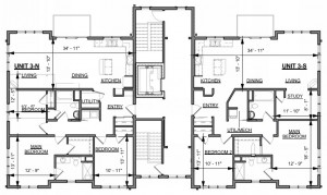 Our elegant one floor living condominiumns include 2 and 3 bedroom configuratioins. All homes include hard wood floor throughout, tiled main bath shower, tiled kitchen and baths, and granite counter tops.